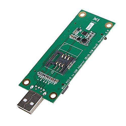 SUPERPLUS MINI PCI-E WWAN TO USB ADAPTER WITH SIM CARD SLOT - Import It All