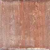 Mosaic Mercantile Mini Metallic Glass Tile, Copper, 1-Pound
