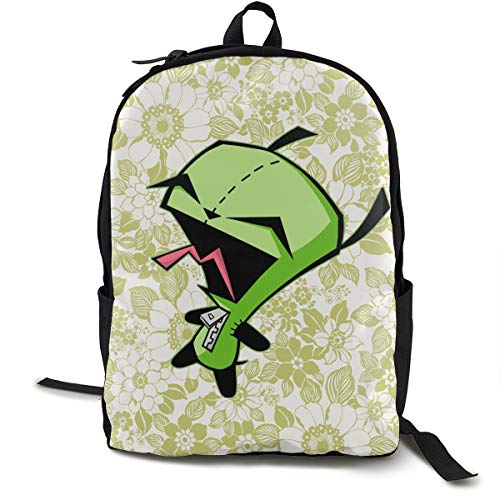 Hills Costume Invader Zim Gir S Doom Canvas Backpack Fashion Travel Daypack for Youth Women and Men -