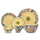 Pfaltzgraff Merisella 32 Piece Dinnerware Set with Vegetable Bowl, Service for 8