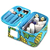 Best  - Zodaca Lightweight Travel Cosmetic Organizer Bag, Pineapple Review