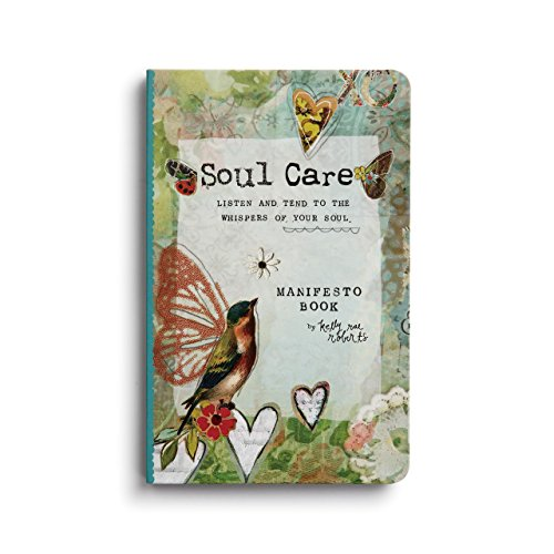 (Soul Care Manifesto Listen and Tend Floral Green 7 x 5 Paper Magnet Gift Book )