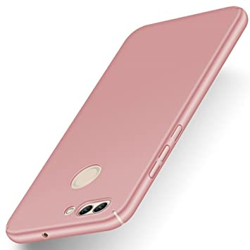 pretty nice b845b e1117 Huawei P smart Case, Stylish Ultra-thin Hard Cover By GOGME, Clean  Minimalist Anti-Scratch Phone Shell For Huawei P smart. rose gold