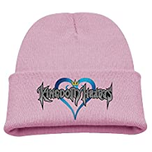Children Beanie Hat Kingdom Hearts Logo Skull Cap In 4 Colors
