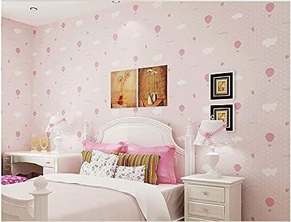 Stanza Da Letto Rosa : Yosot stanza dei bambini non tessuto di sfondo incantevole nuvola