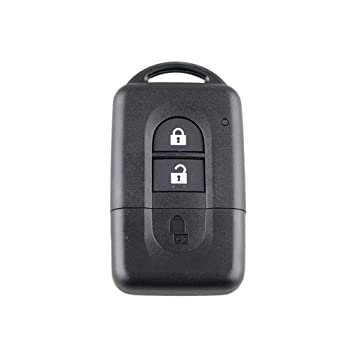 Leoboone Mini Remote Key Case Remote Key Fob Funda Inteligente para Nissan Qashqai X-Trail Micra Note Pathfinder