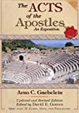 img - for The Acts of the Apostles: An Expositon: Revised and Updated Edition (Classic Biblical Reprints Series) (Volume 1) book / textbook / text book