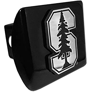 """Elektroplate Wisconsin Badgers Silver with Red /""""W/"""" Emblem NCAA Metal Trailer Hitch Cover Fits 2 Inch Auto Car Truck Receiver"""