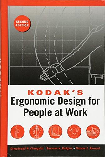 Kodak's Ergonomic Design for People at Work