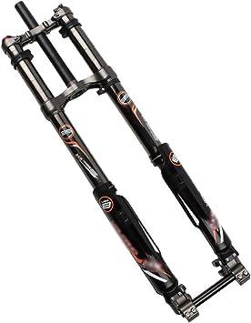 LFDHSF MTB Bicicleta Suspensión Horquilla Frenos de Disco Aire ...