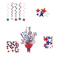 WGI Red, White and Blue Stars Patriotic Party Pack
