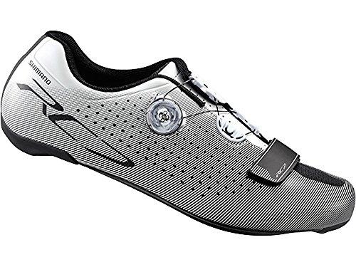 Shimano RC700Scarpe da corsa in Bianco 42larghezza, bianco