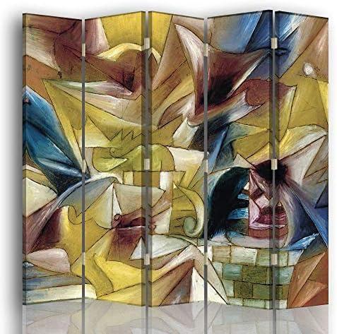 Legendarte Biombo Jardín Tropical - Paul Klee cm. 145x180 (4 Paneles): Amazon.es: Hogar
