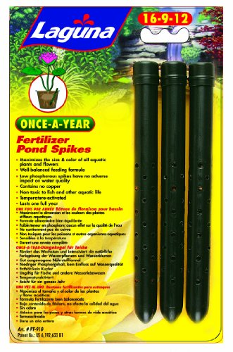 - Laguna Once-A-Year Fertilizer Spike, Aquatic Plant - 3-Pack