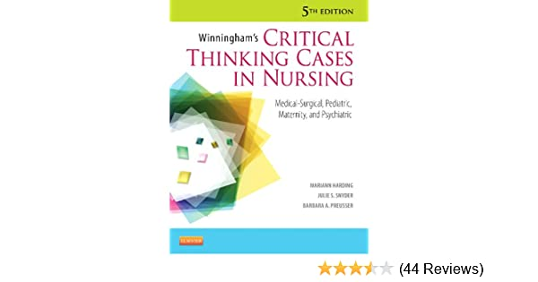 winninghams critical thinking cases in nursing answer key