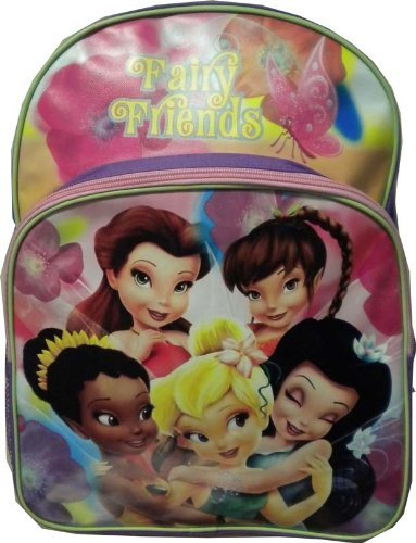 (Disney Fairies - Tinkerbell Fairy Friends Large Backpack)