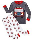 Family Feeling Fire Truck Big Boys Pajamas