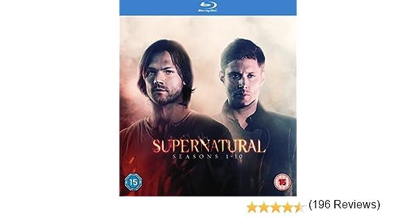 Supernatural Seasons 110 - Supernatural: Seasons 1-10 10 Blu-Ray ...