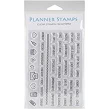 """SRM Planner Clear Stamps 4""""X6""""-Notes To Self"""