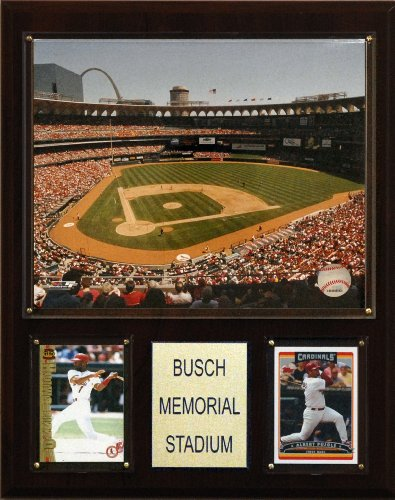 MLB Busch Stadium Plaque ()