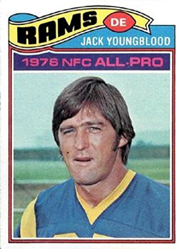 Football NFL 1977 Topps #80 Jack Youngblood LA Rams