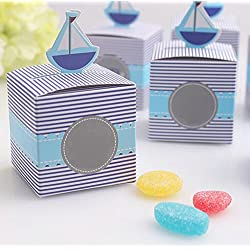 Kubert® Candy Gift Boxes Bag ! Pop-Up Sailboat Favor Box For Wedding Decoration Party Decoration New Craft Decoration Thanksgiving Gifts Christmas Gifts (Set of 12)
