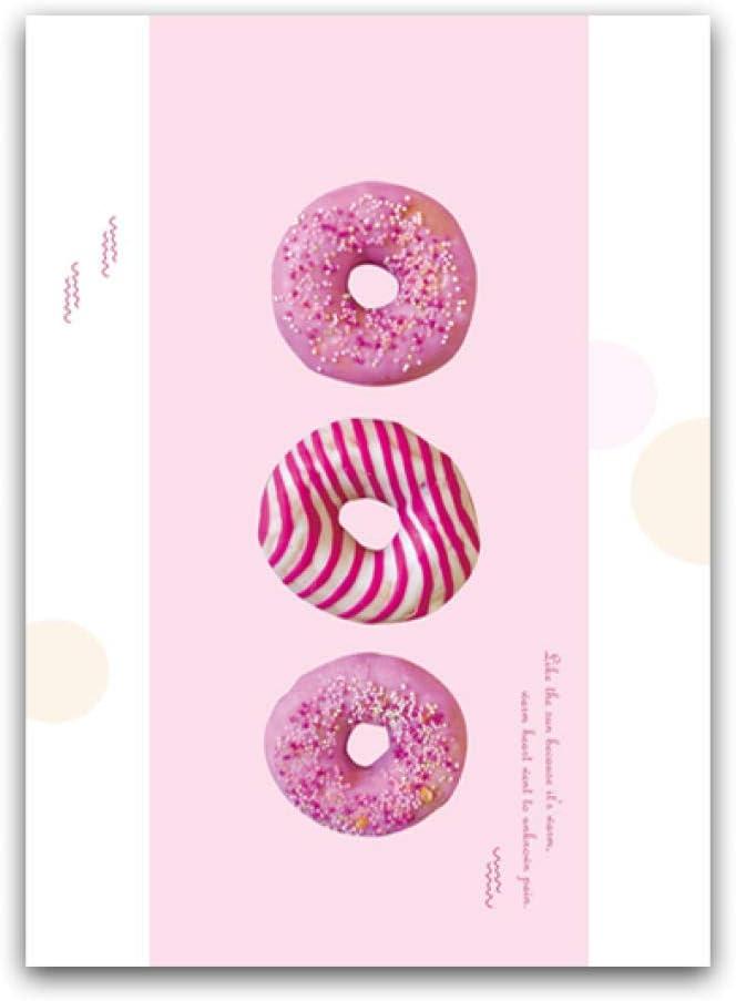 Impression Sur Toile Toile Nordique Kawaii Pink Sweet Donut