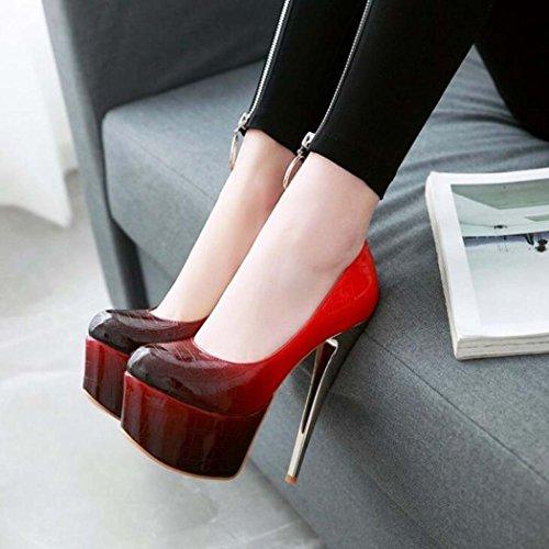 Zapatos Plataformas de de Mujer Tac 88gw1rEq