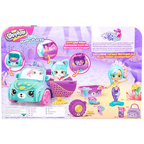 Shopkins Happy Places Mermaid Convertible