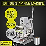 ShareProfit Hot Foil Stamping Machine Bronzing Card Tipper for Paper Leather PVC with Free Foil Paper