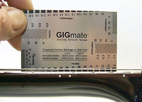 GIGmate String Action Gauge Slide Measures
