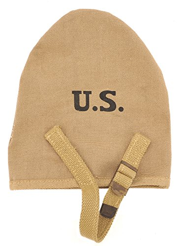 World War Supply US WW2 M1910 Shovel Cover Khaki Marked JT&L -