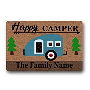 Amazon Com Happy Camper Family Name Personalized Custom