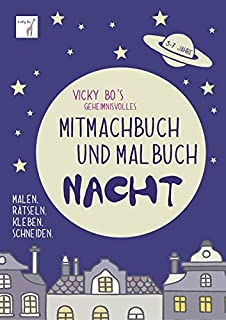 Vicky Bo S Fettes Mitmachbuch Malbuch Ab 2 Bis 6 Jahre Dickes