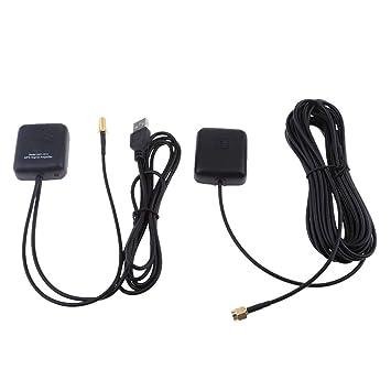 Antena GPS Sistema de navegación Amplificador Coche Señal ...