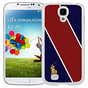 Lauren Ralph Lauren 19 White Samsung Galaxy S4 Screen Cover Case Fashion and Newest Style