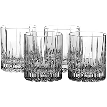 arctic lights crystal double old fashioned glass ounce set glasses bed bath and beyond dorset of 4 mikasa laura o