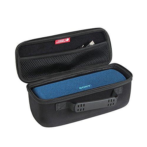 Hermitshell Hard Case fits Sony SRS-XB31 Portable Wireless Bluetooth Speaker (Black)