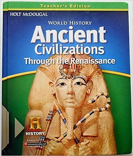 World History Teacher Edition Ancient