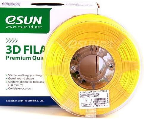 Esun amarillo ABS 1,75 mm filamento 1 kg/2.2lb Bobina para ...
