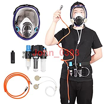 Three-In-One Function Supplied Air Fed Respirator System & 6800 Full Face Gas Mask