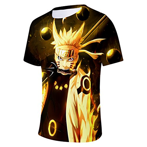 Rod Shirt Naruto 3xl Ctooo Col Xxs Imprimé Hommes 3d 10 Xpwq7FA
