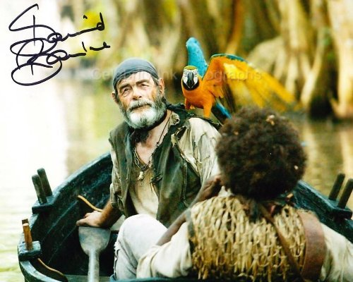 DAVID BAILIE as Cotton - Pirates Of The Caribbean Genuine Autograph from Celebrity Ink