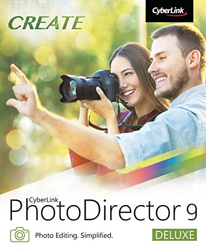 PhotoDirector 9 Deluxe [PC Download] by Cyberlink