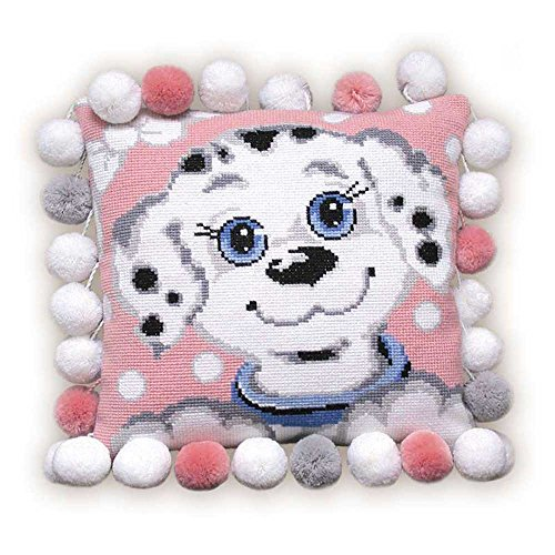 RIOLIS Dalmation Dog Cushion - Cross Stitch Kit