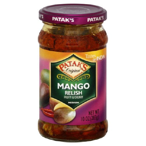 (Patak's Mango Pickle Medium, 10-Ounce (Pack of 6))