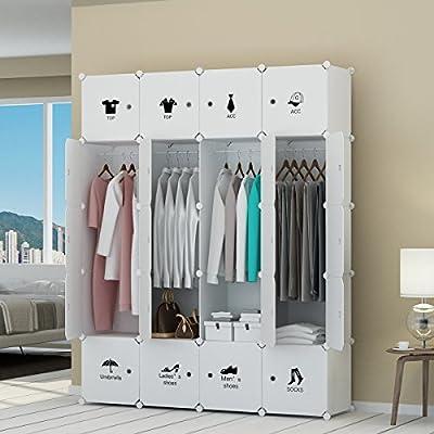 KOUSI Portable Wardrobe Clothes Closet RBYG-A from KOUSI