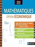 Mathématiques - option économique