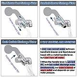 Shower Arm Diverter Valve Brass G1/2 3 Way