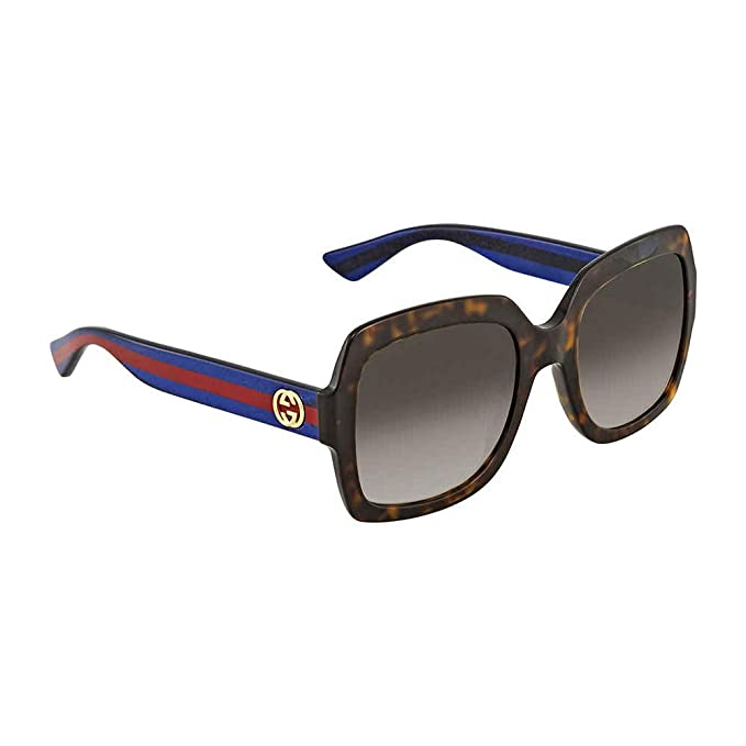 Gucci GG0097S 006 Gafas de Sol, Marrón (Avana/Brown), 56 ...